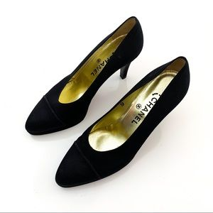 Chanel Black Pumps size 9